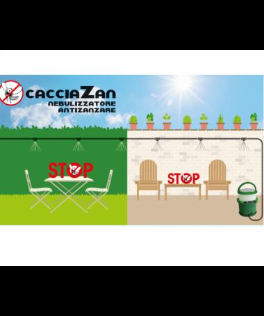 Nebulizzatore anti-zanzare CacciaZan