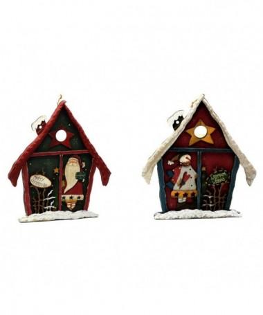 Casette Babbo Natale - 6 pezzi