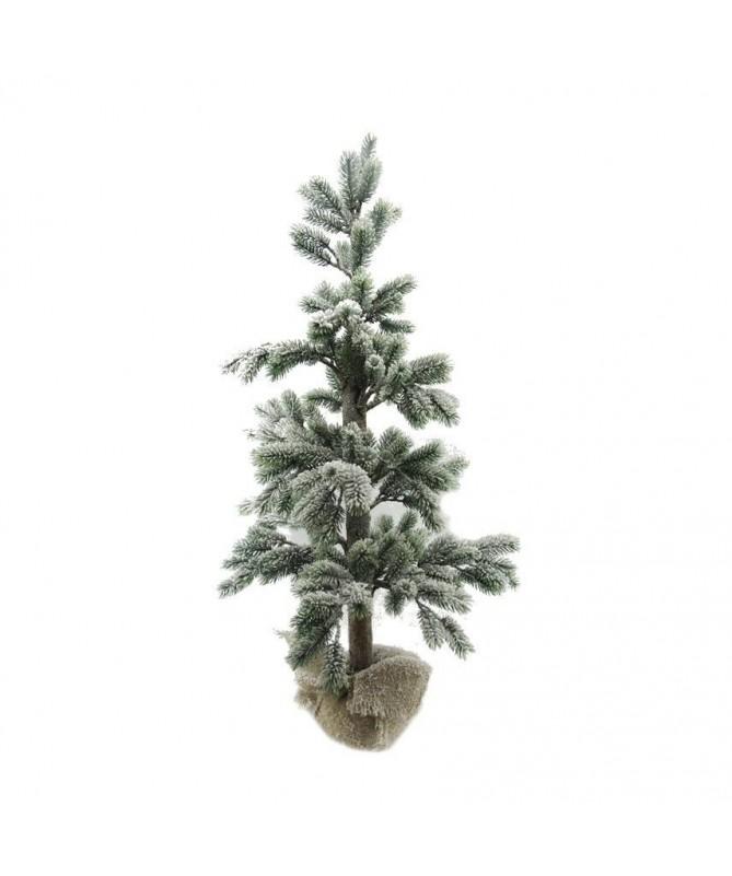 Albero di Natale innevato - 100 cm