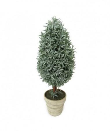 Albero verde con vaso
