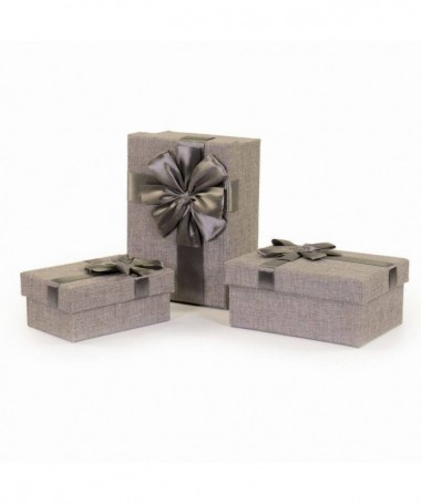 Scatole regalo in cartone 3 pezzi