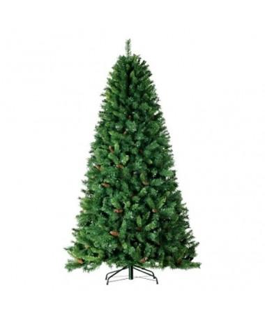 Albero di Natale Monte Sillara con pigne - 120 cm
