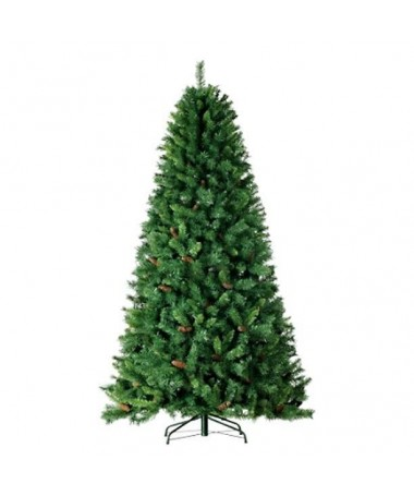 Albero di Natale Monte Sillara con pigne - 240 cm