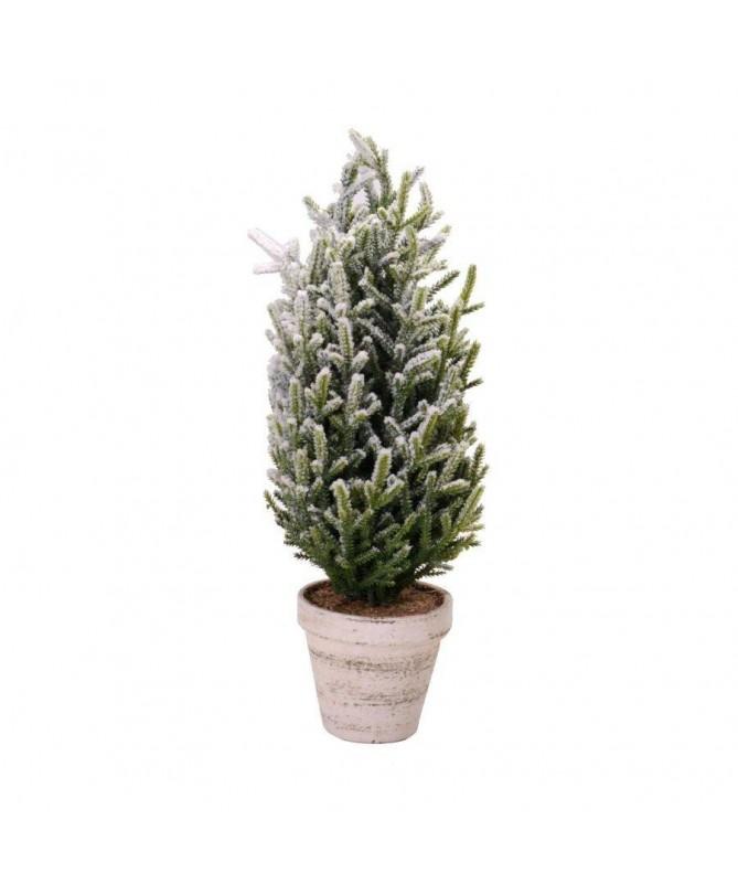 Albero Cortina innevato con vaso – 50 cm