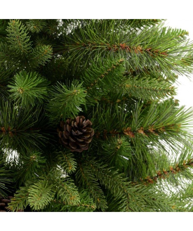 Albero Di Natale Con Pigne.Albero Di Natale Sinai Con Pigne 210 Cm
