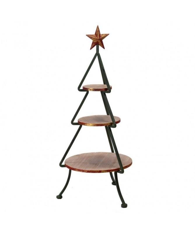 Alzatina espositore in legno e metallo | eBay
