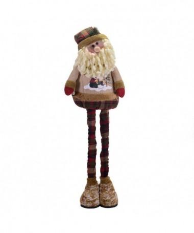 Babbo Natale in tessuto allungabile