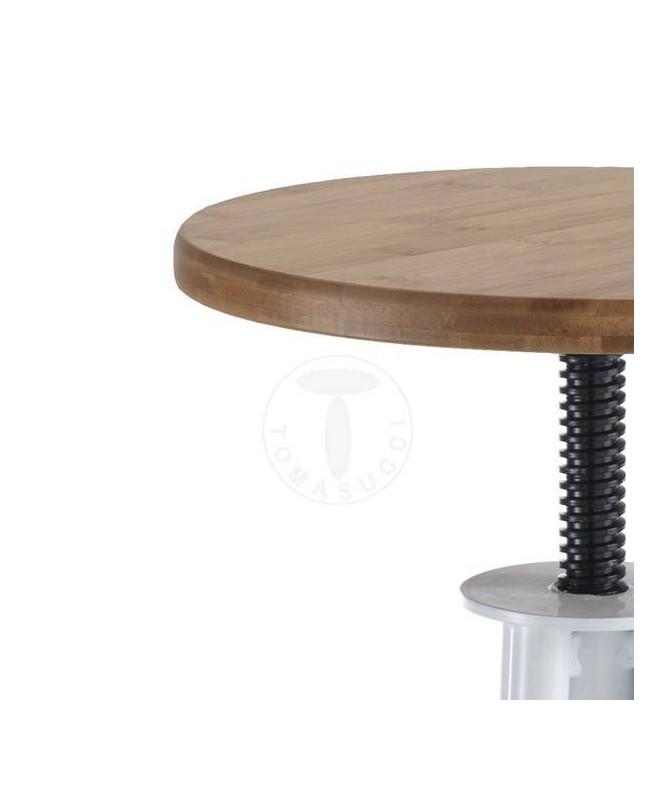 Sgabello Pajo in legno regolabile