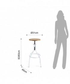 Sedia Basic in pvc e gambe cromate - set da 4 rosso