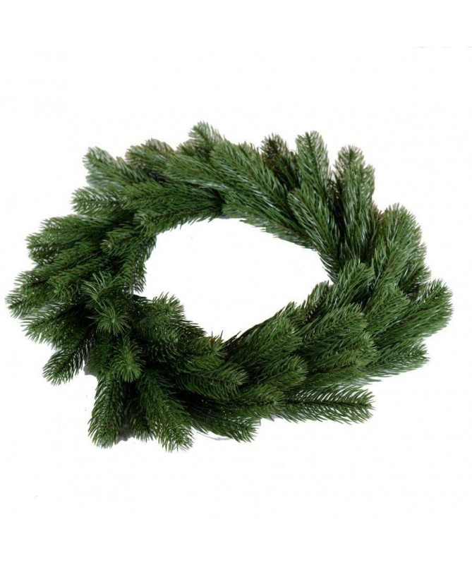 Ghirlanda verde - 47 cm