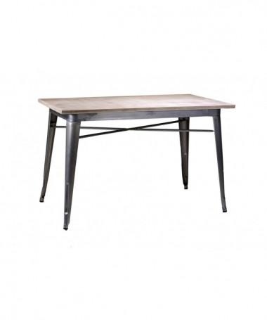 Tavolo in ferro Bristol - galvanizzato