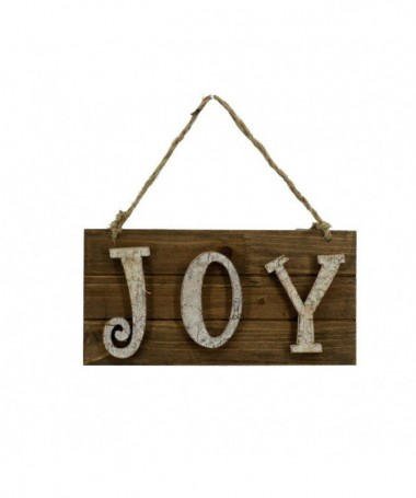 Targhetta in legno Joy – set da 2