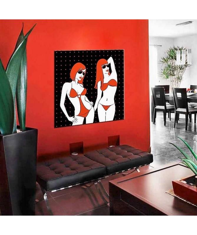 Pannello riscaldante Red Bikini
