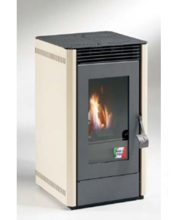 STUFA A PELLET mod. GIANGI 5,5 KW - MADE IN ITALY disponibile in diversi colori