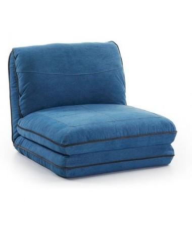 Poltrona Letto Blu.Puf Puff Poltrona Letto Jeans Blu