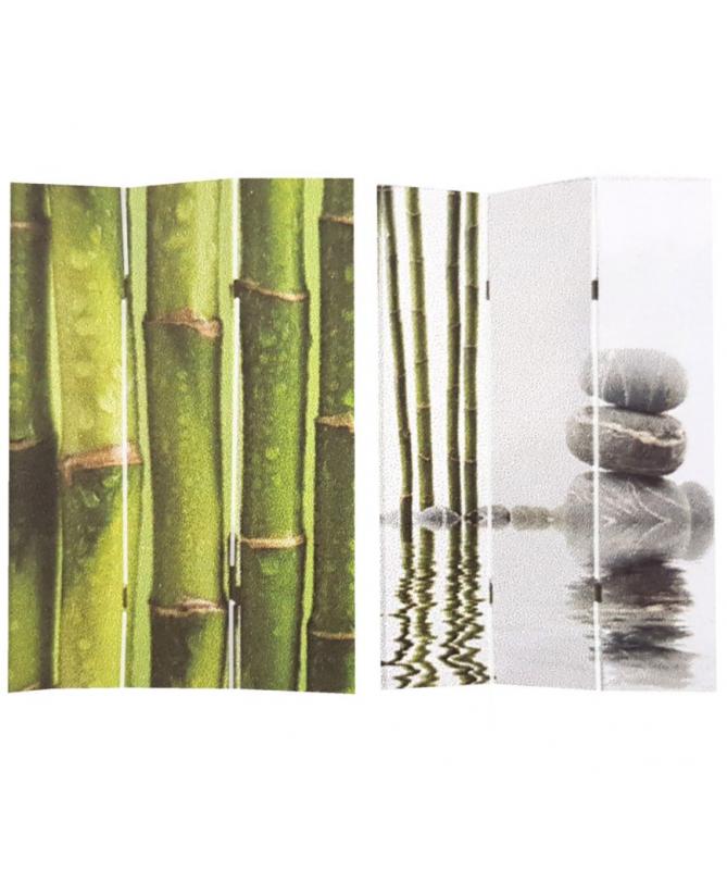 Paravento stampa 3 ante bambu'
