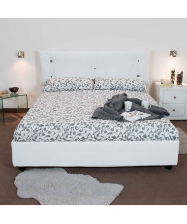 Letto singolo Agnese Made in Italy