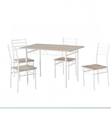 Set tavolo e 4 sedie PORTO