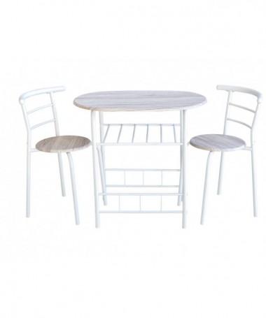 set tavolo e 2 sedie LIVERPOOL