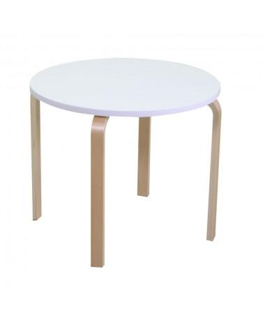 Tavolino per bimbi in legno bianco