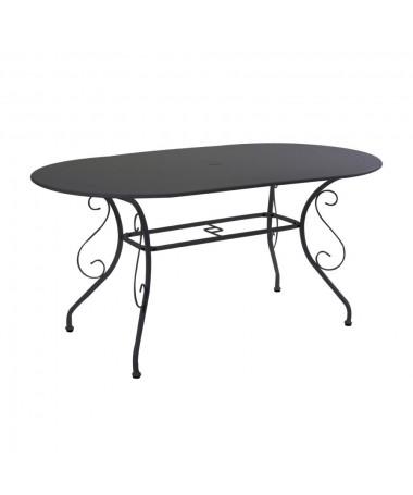 Tavolo metallo OLD antracite