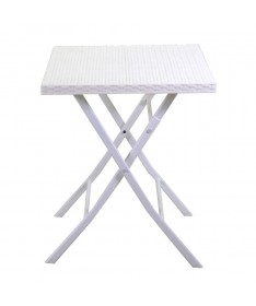 Tavolo ferro SPOKANE bianco