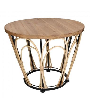 Tavolino legno noce
