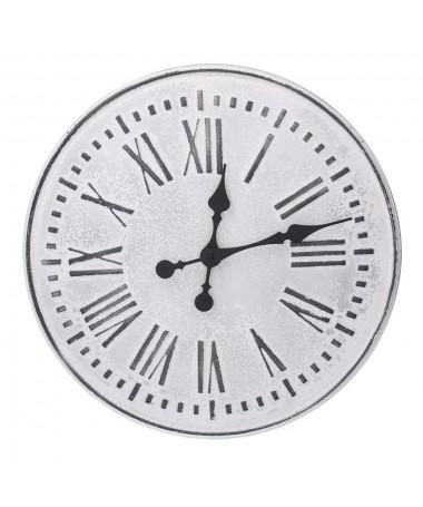Orologio metallo bianco nero