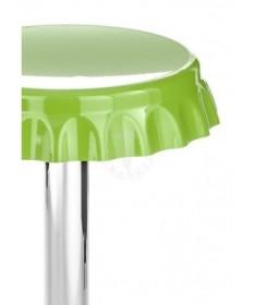 Sgabelli bar a forma di tappo - set da 2 verde