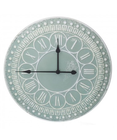 Orologio metallo verde