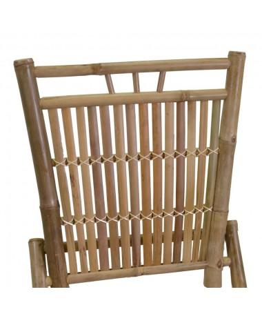 Sedia bambù macao naturale