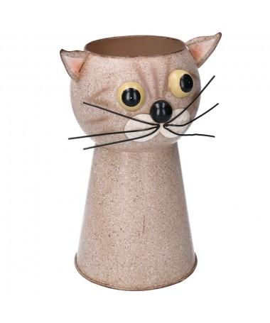 Portavaso latta gatto