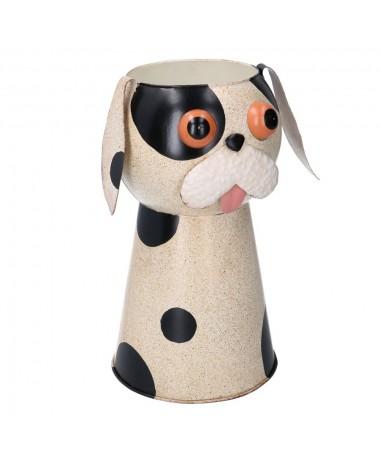 Portavaso latta cane maculato