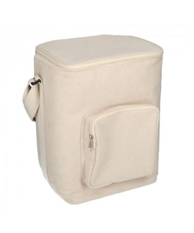 Borsa frigo crema con tasca