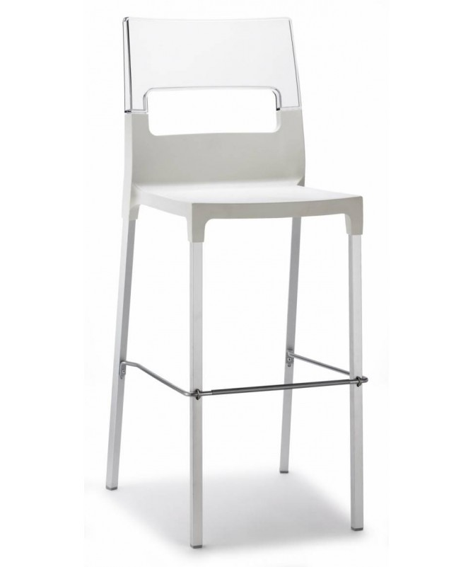 Sgabello in tecnopolimero Diva di Scab - h75 cm, set da 2, disponibile in diversi colori