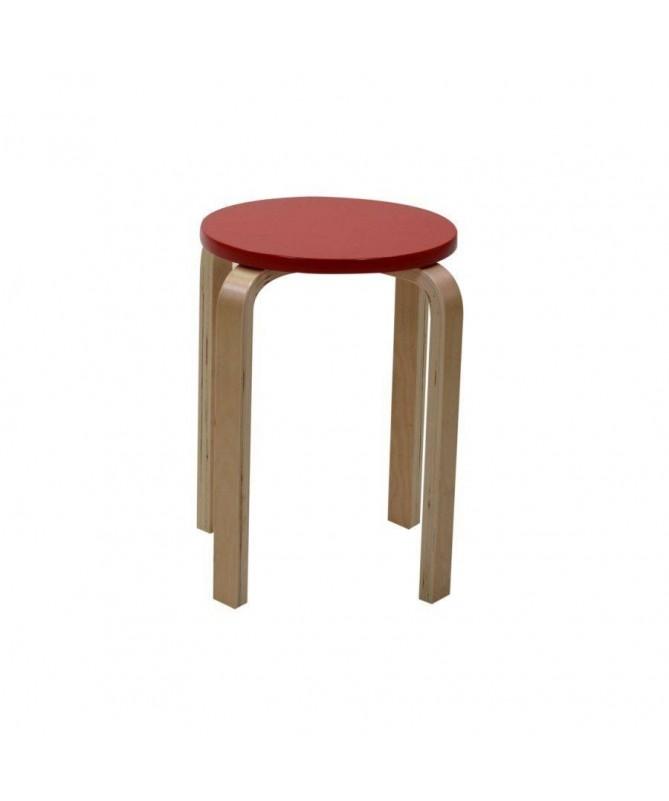 Set 2 gabelli in legno - rosso
