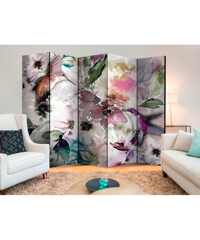 Paravento - Nature in Watercolor II [Room Dividers]