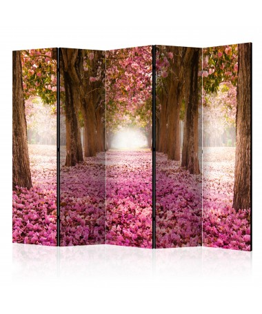 Paravento - Pink Grove II [Room Dividers]