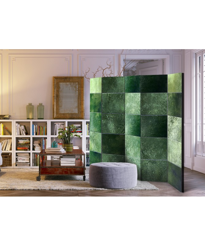 Paravento - Green Puzzle II [Room Dividers]