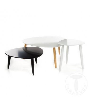Tavolini Kyra - set da 3