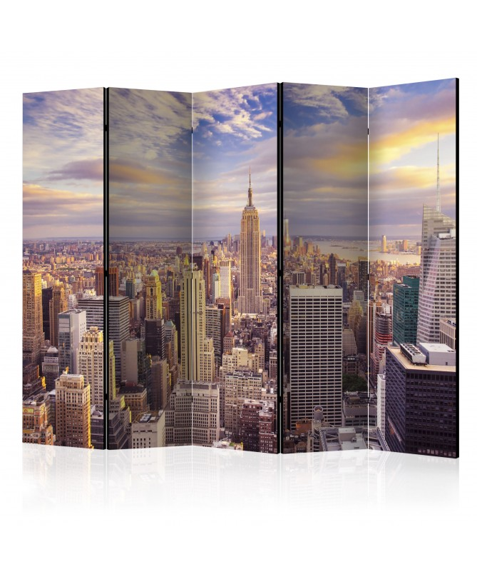 Paravento - New York Morning II [Room Dividers]