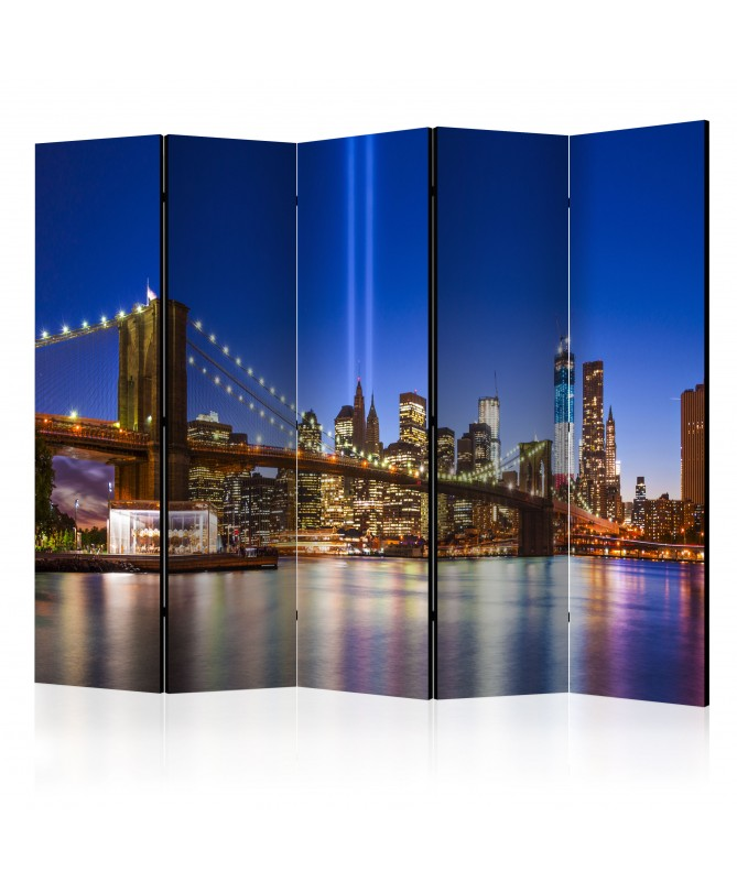 Paravento - Blue New York II [Room Dividers]