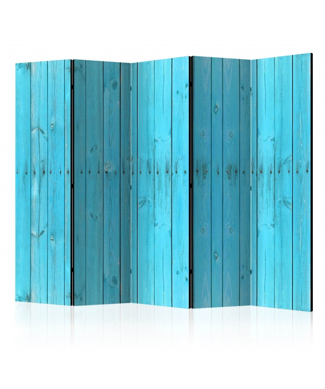 Paravento - The Blue Boards II [Room Dividers]