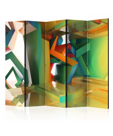 Paravento - Colourful Space II [Room Dividers]