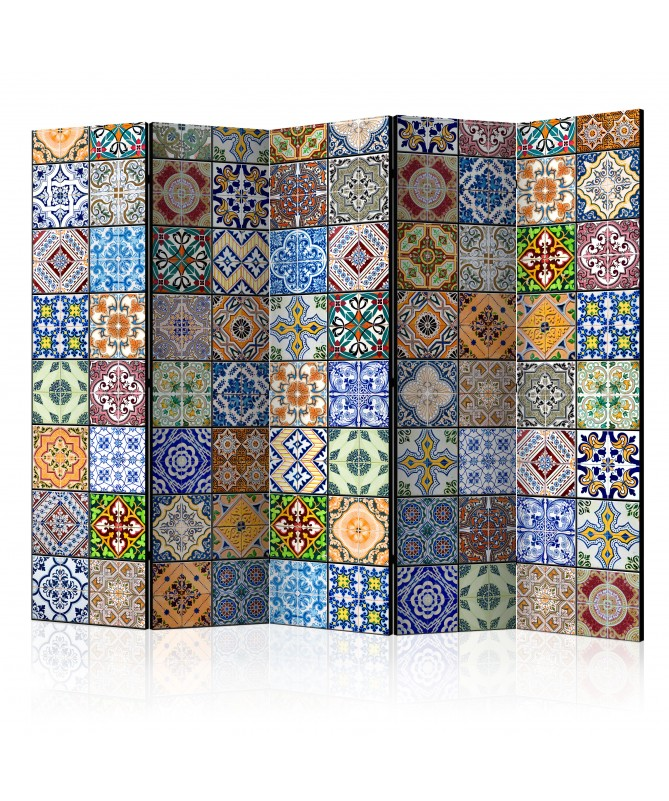 Paravento - Colorful Mosaic II [Room Dividers]