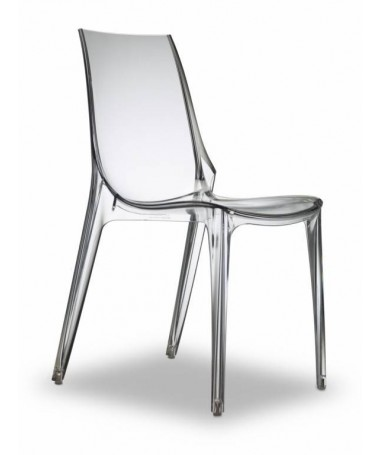 Poltrona Vanity Chair policarbonato Made in Italy
