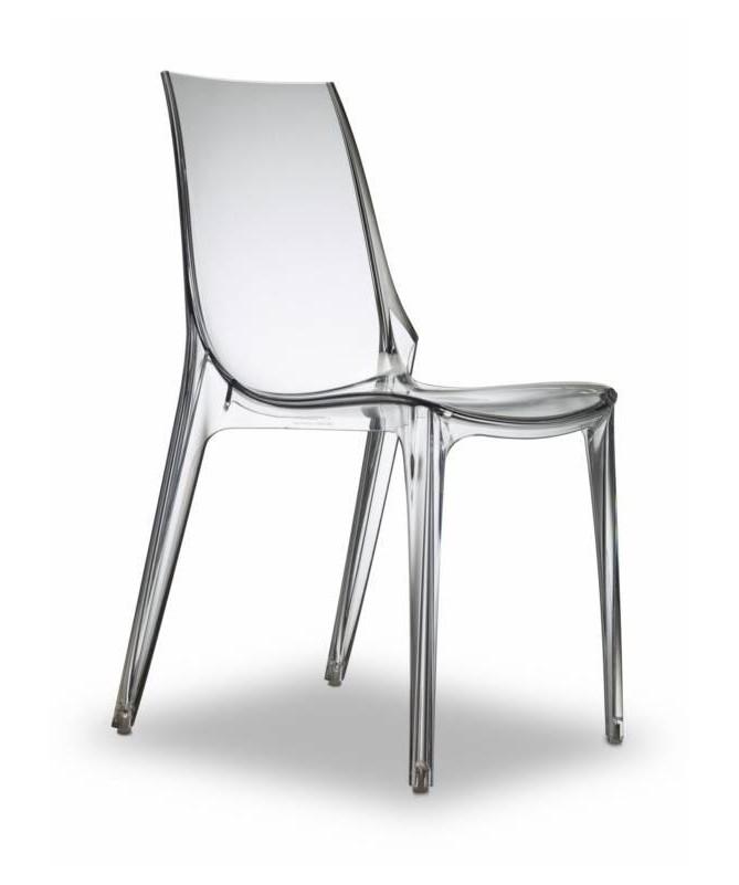 Poltrona Vanity Chair in policarbonato Made in Italy - Set da 2