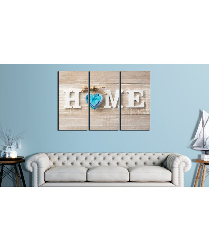 Quadro - Home: Blue Love