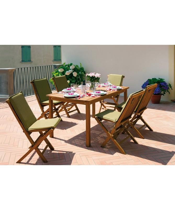 Tavolo Filicudi 150×90 legno teak