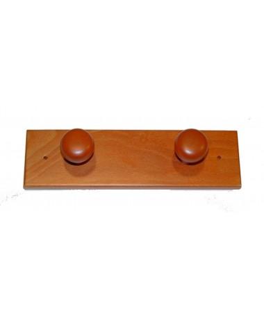 SET 4 SEDIE SORA in plastica rossa con struttura in metallo finitura alluminio MADE IN ITALY